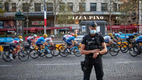 The final stage of the Tour de France to compete with Paris & # 39; The Champs Elysees on Sunday.