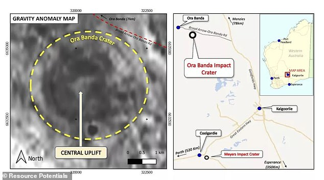 Miners were working near the historic mining town of Aura Panda in Gold Fields, northwest of Kalgoorlie Boulder, when they discovered seemingly out of place rocks.