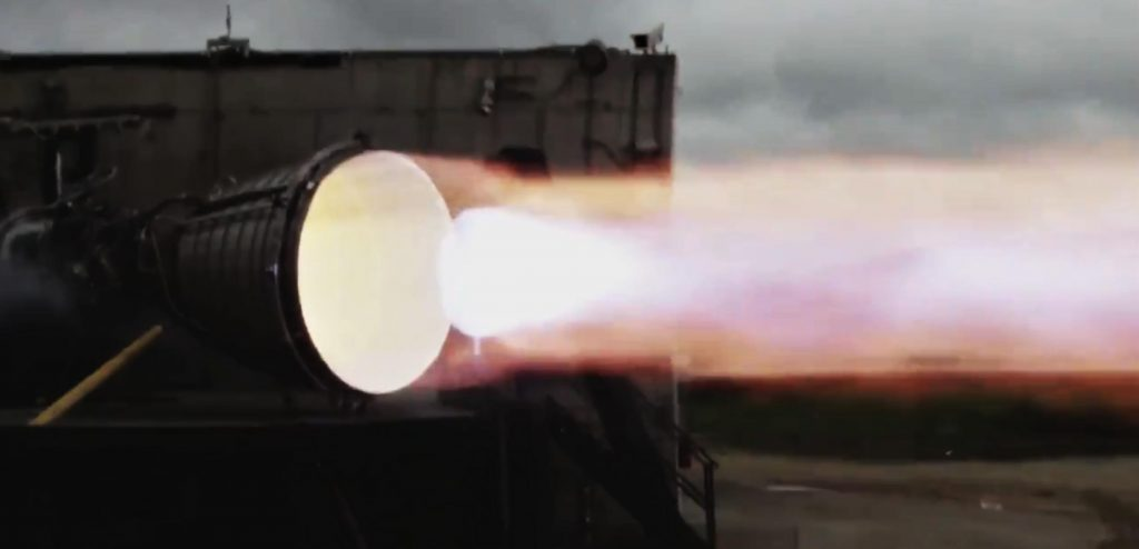 SpaceX's first orbiting spacecraft engine has just fired