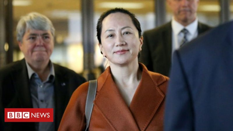 Meng Wanzhou: The PowerPoint Program That Stirred International Controversy