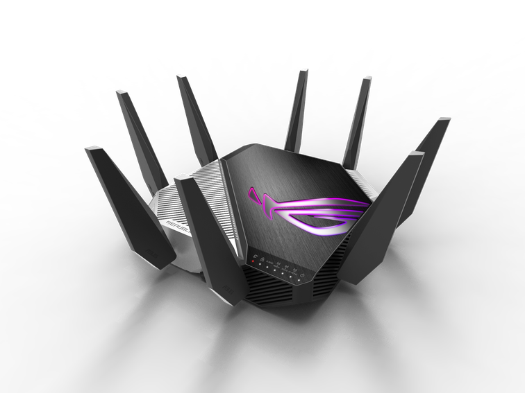 Asus just announced its first router to support next-generation Wi-Fi 6E connections