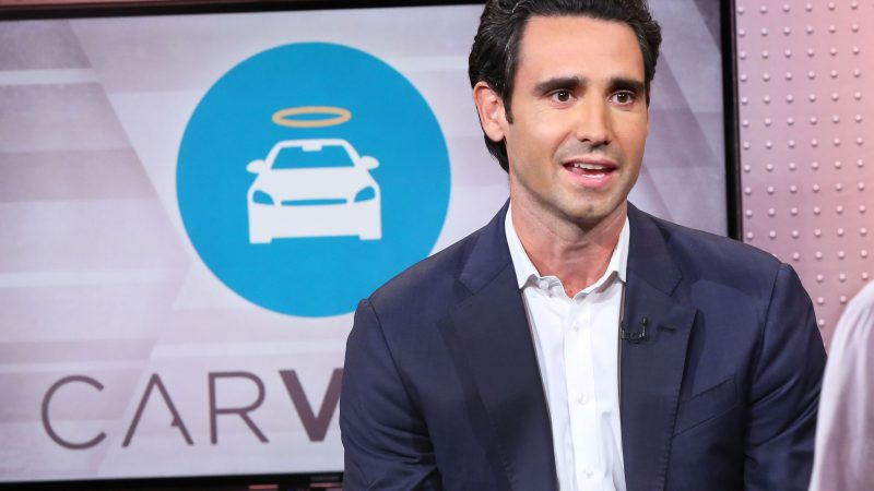 Carvana shares are up 24% after the company's first quarter sales