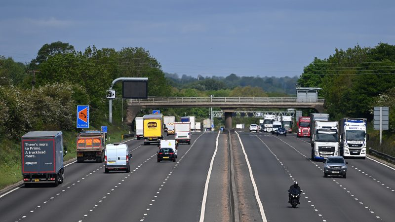 Sections of motorway in England are to be made 60mph zones in a bid to reduce emissions