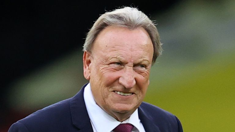 Middlesbrough says Warnock, 71, is in good spirits