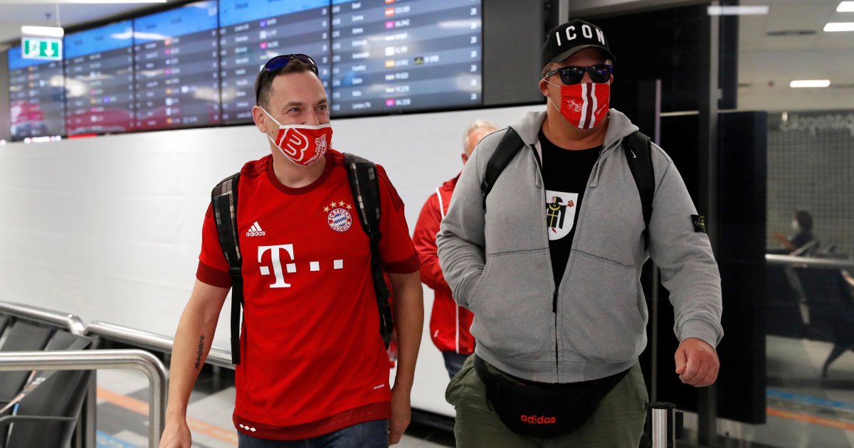 European Super Cup: Fans arrive in Budapest to take part in the 'experimental' COVID-19 game |  Hungary
