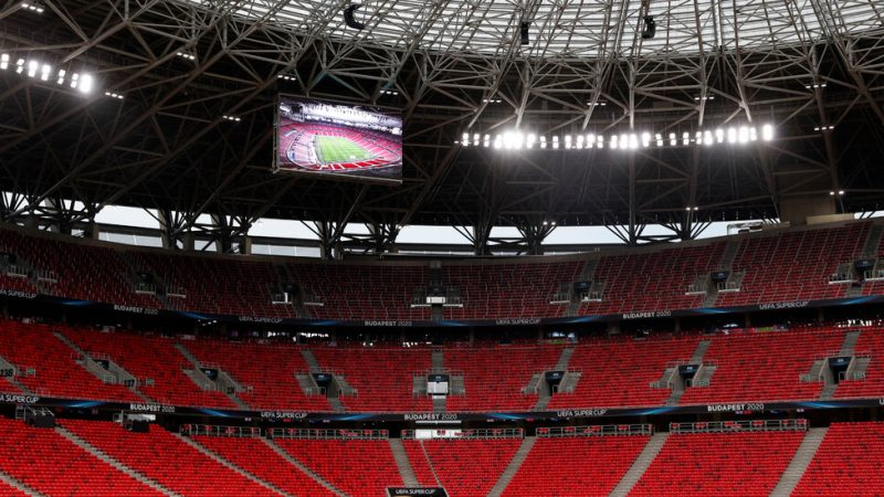 Even as viruses spread, Hungary is introducing the Super Cup soccer game