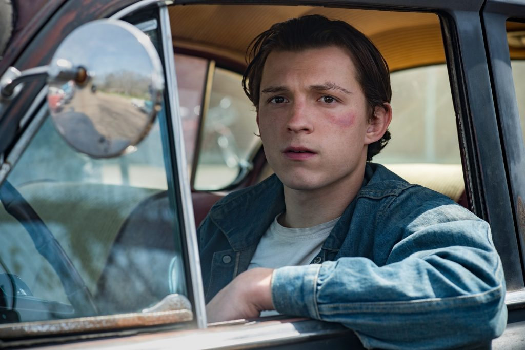 Fans flock to Tom Holland as Arvin Russell in Netflix's The Devil All the Time