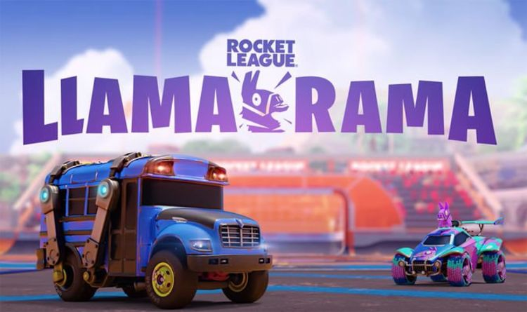 Fortnite x Rocket League Llama-Rama Event Date, Start Time, Challenges, and Slushii Party | Games | entertainment