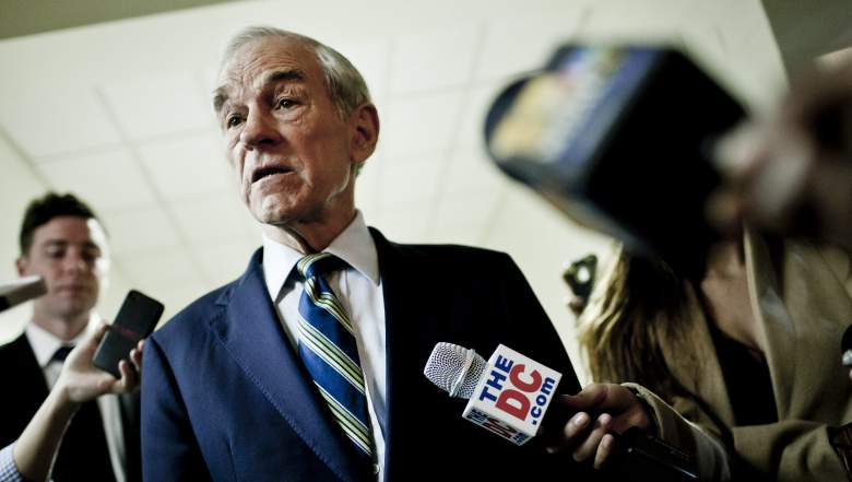 It appears that Ron Paul has a stroke on the live broadcast