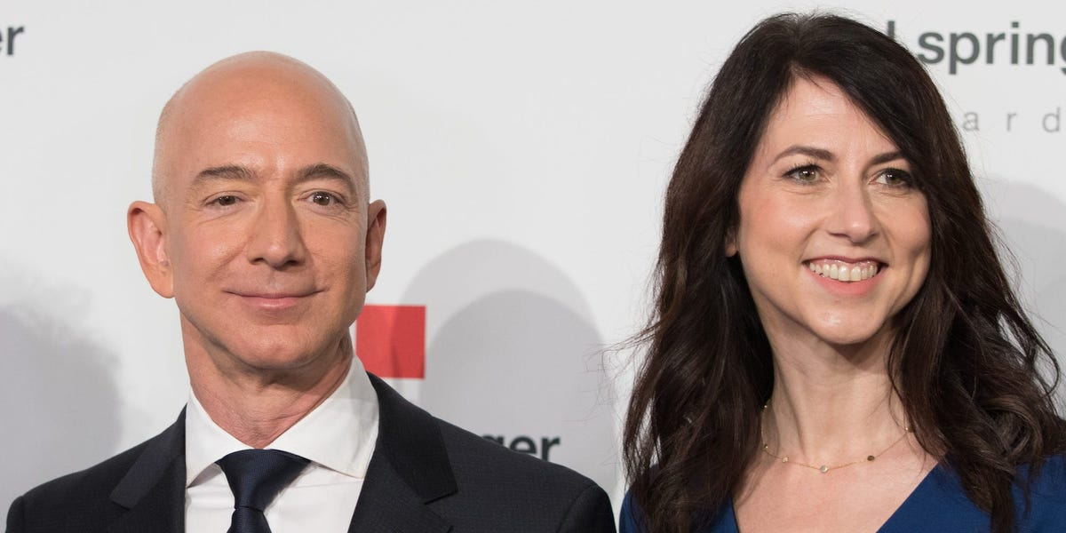 Jeff Bezos' Ex-Wife Mackenzie Scott Now Richest Woman In The World