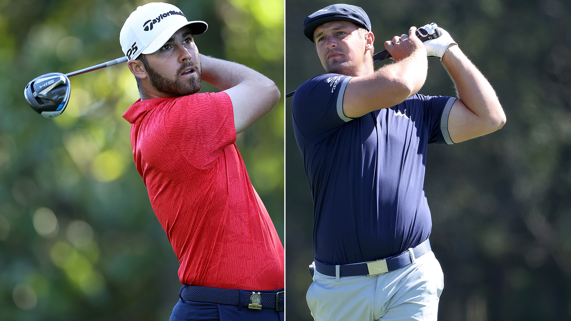 Matthew Wolff ascends, Bryson leads Deschambo by 2 on his US Open debut