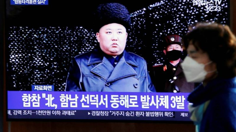 North Korea warns of tensions while searching for South Korean fire | North Korea