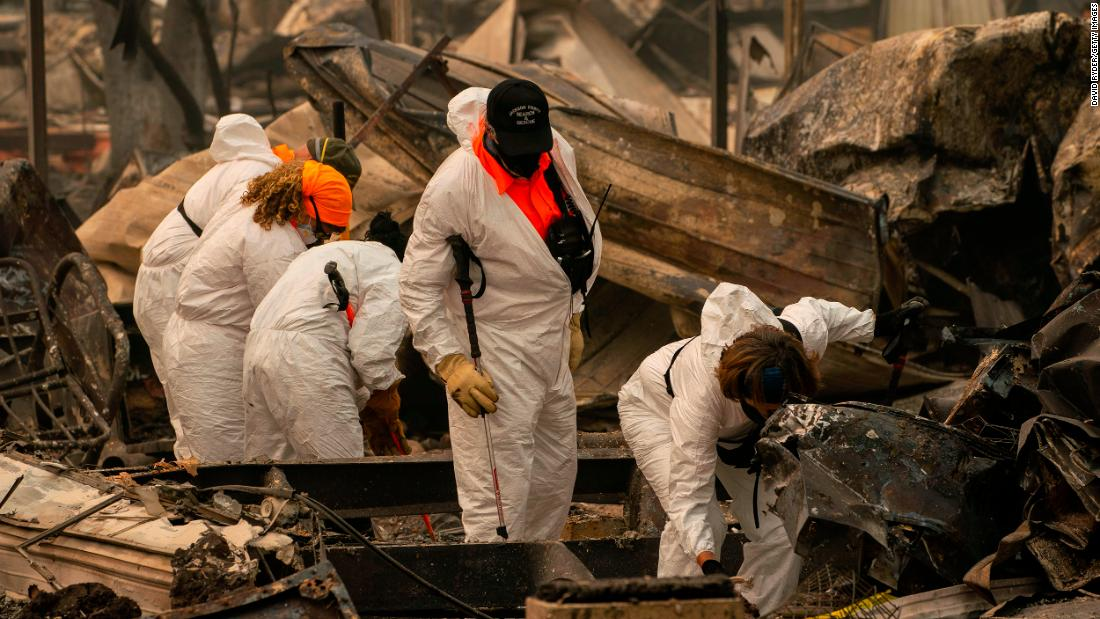 Oregon, California and Washington fires: Dozens still missing