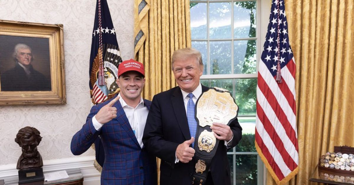 President Donald Trump invites Colby Covington after UFC Vegas 11 win: 'I'm proud of you'