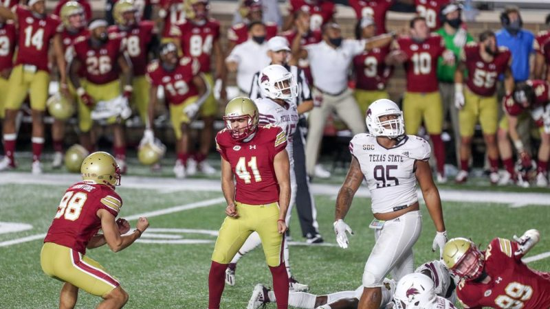Summary: Texas State 21 Boston College 24