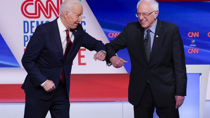 Supporters of Bernie Sanders help Joe Biden build his Hispanic support
