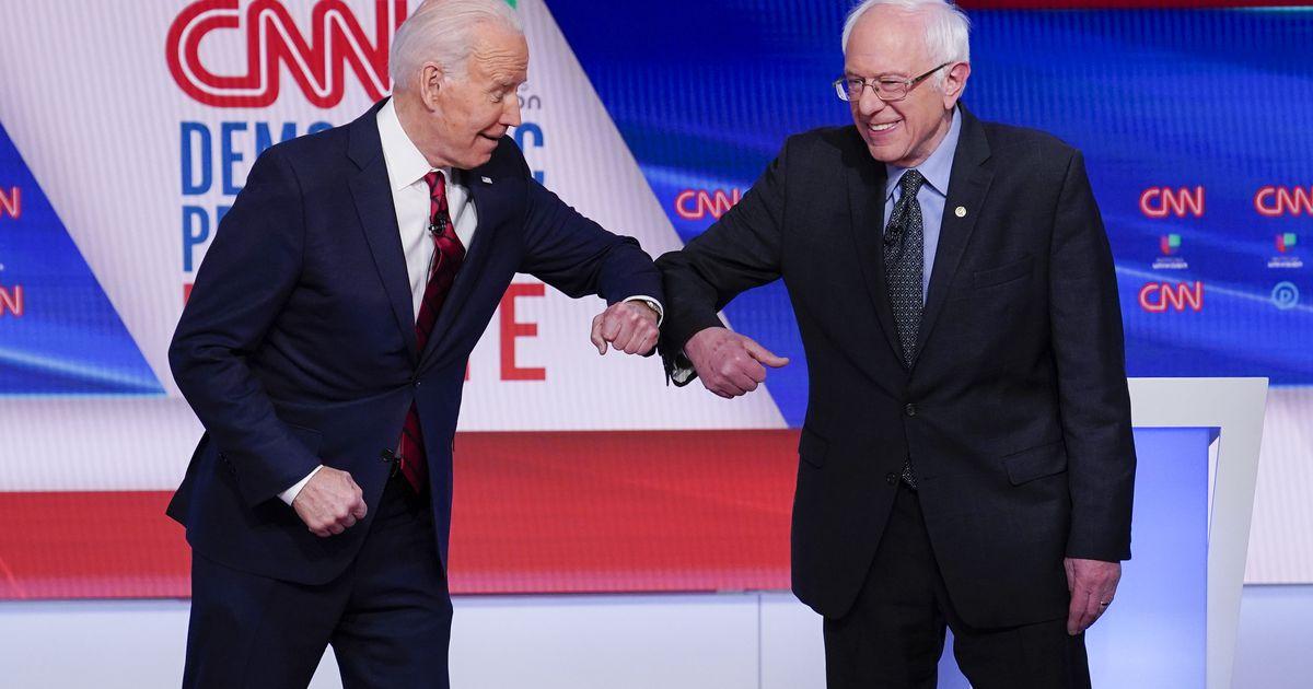 Supporters of Bernie Sanders help Joe Biden build his Hispanic support