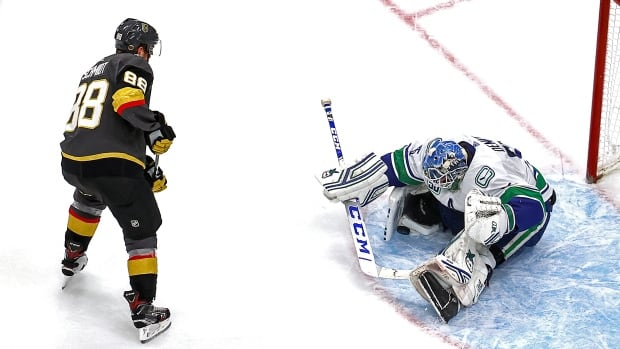 The brilliant Demko can't save the Canucks season while the Golden Knights reach the West Final