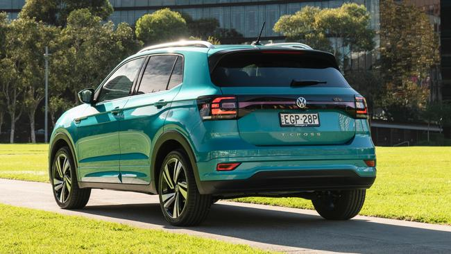 The new small SUV is fuel efficient and spacious