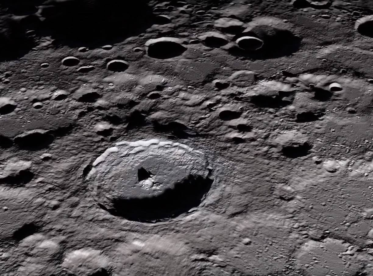 The surface of the moon is highly radioactive – BGR