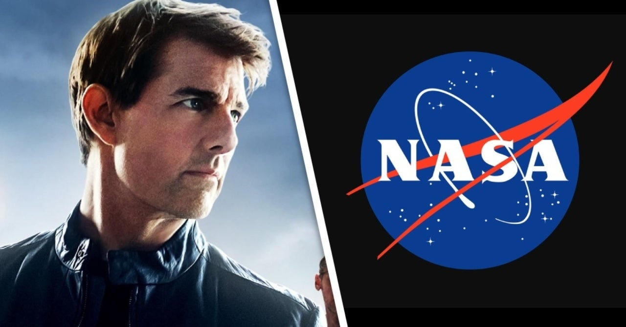 Tom Cruise was allowed to shoot a movie in space the next year
