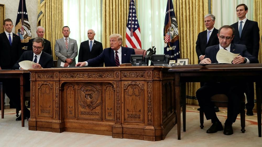 Serbia, Kosovo agree to normalise economic ties, Trump says