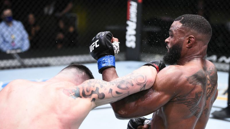 """Tyrone Woodley on losing to Colby Covington: """"I don't know what happened"""""""