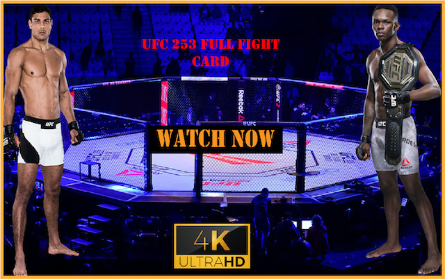 Watch UFC 253 Live Stream Reddit: Adesanya vs. Costa Fight Live Online Free
