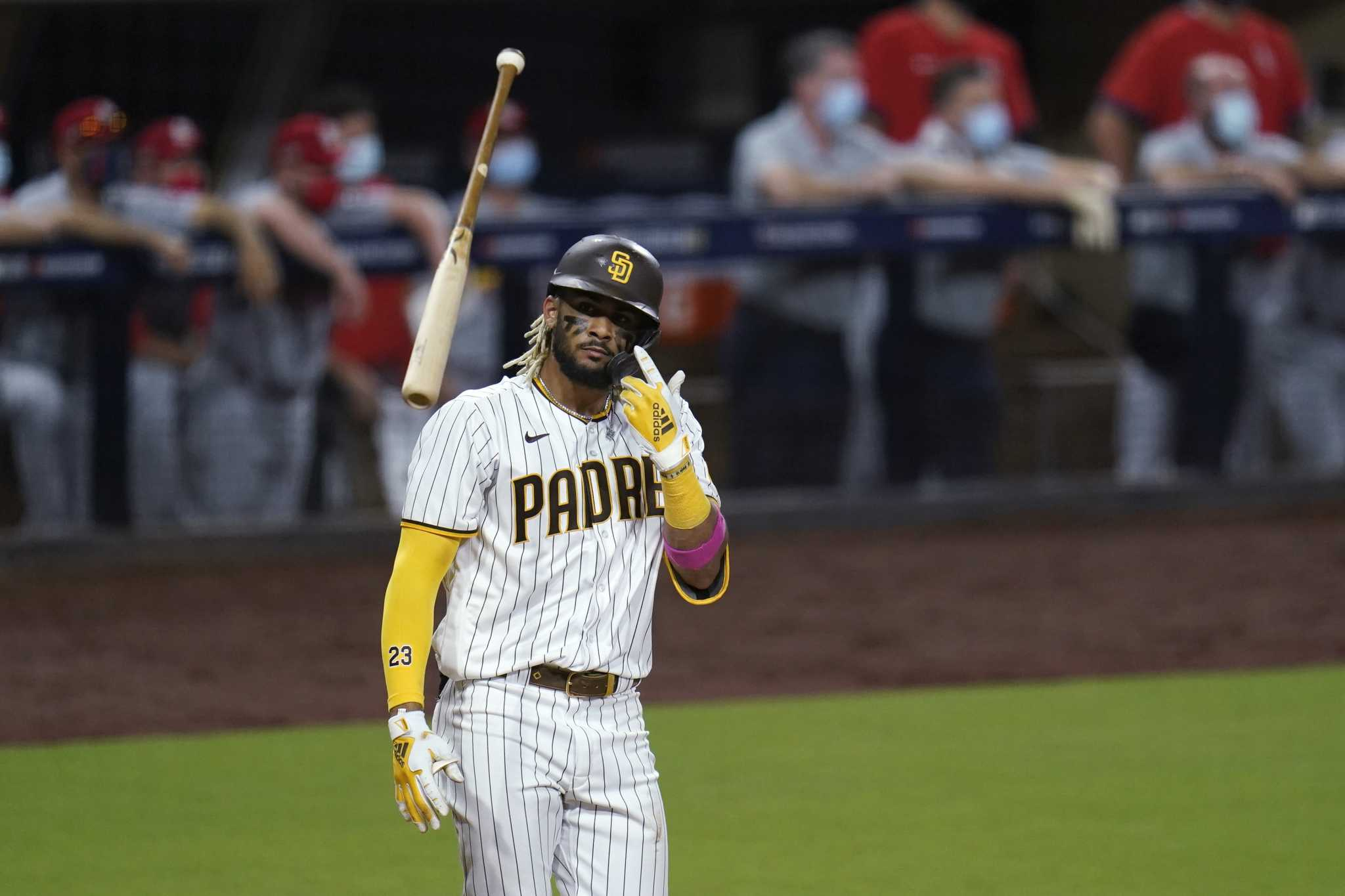 Tates, Myers Homer twice, and Padres survive with a 9-11 win