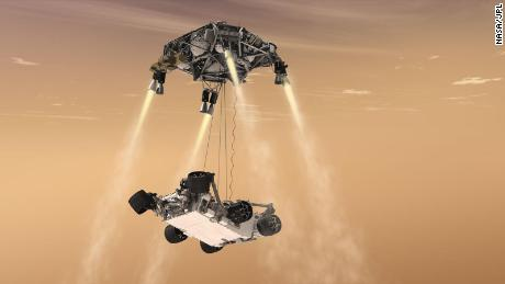 The persevering rover on its way to Mars. what is next?
