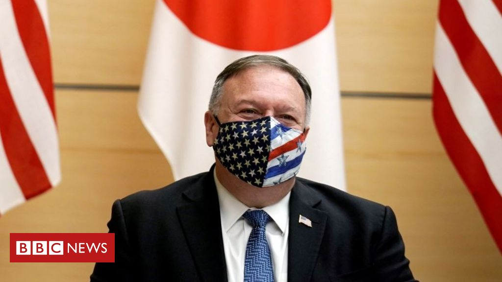 """Mike Pompeo is in Japan to attend the """"Quartet"""" meeting to confront China"""