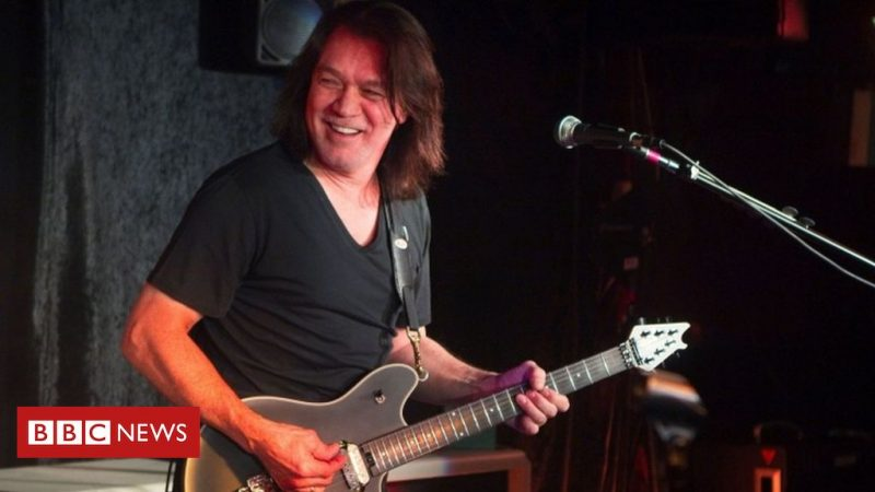 Eddie Van Hallen: Reverend guitarist dies at age 65 of cancer