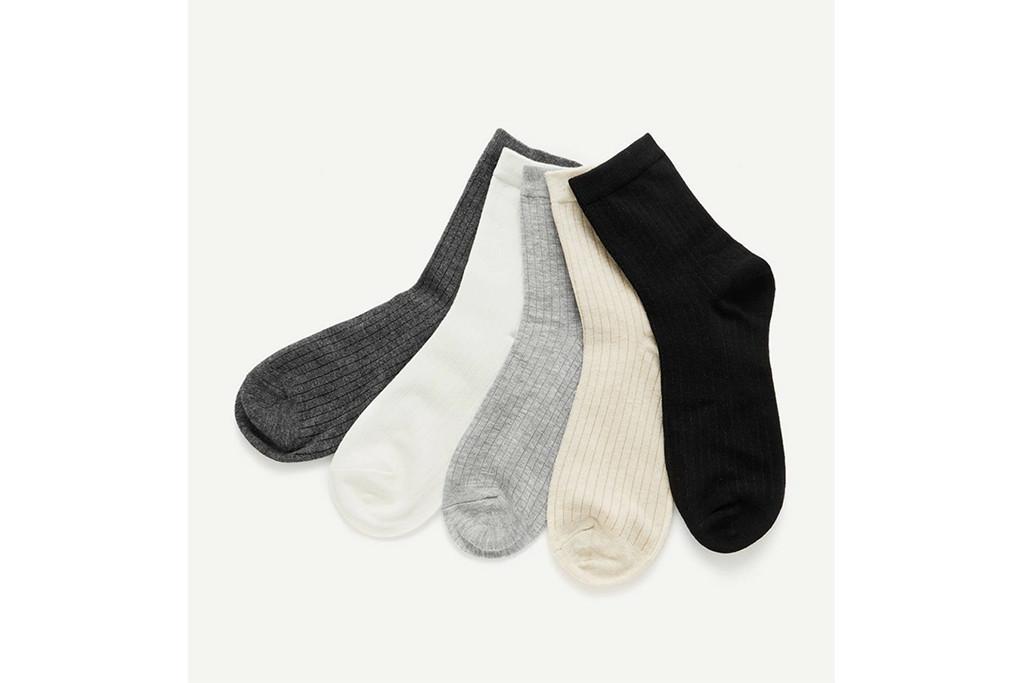 Shein tube socks, multi tube socks, socks