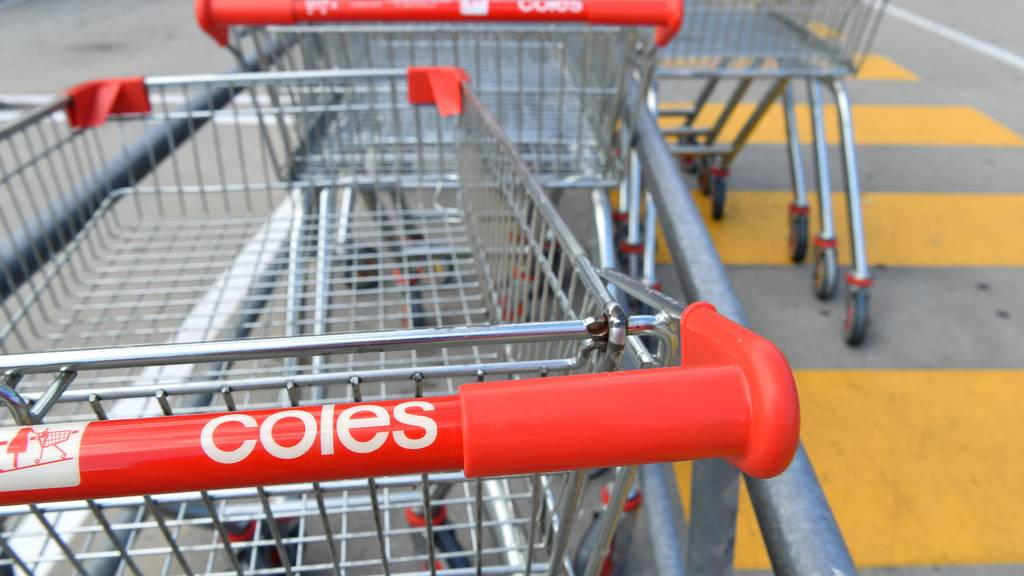 Coles' supermarket is up and running again after nationwide registration cuts caused chaos