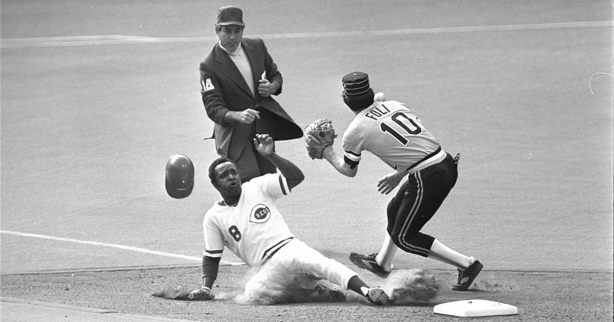 Joe Morgan, second player on the Cincinnati Reds and heart of 1970's Big Red Machine, dies at age 77