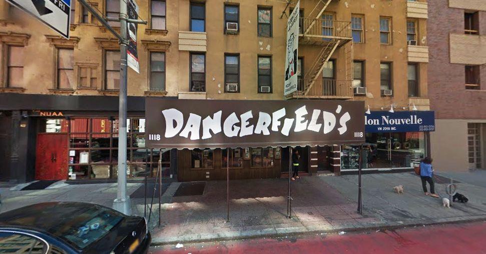NYC Comedy Club Dangerfield's shutdown due to COVID