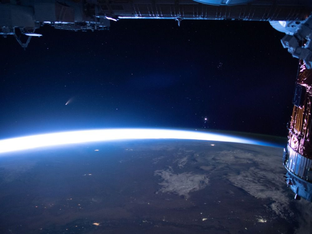 Tonight, two large masses of space debris could collide and fill Earth's low orbit with scrap.