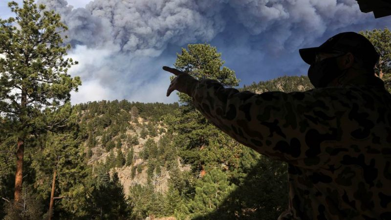 Colorado's largest fire brings a new round of evacuations