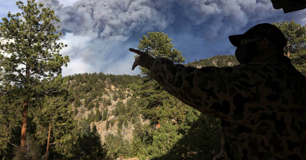 Wildfire in Colorado: Cameron Peak and Calwood fires destroyed 26 houses