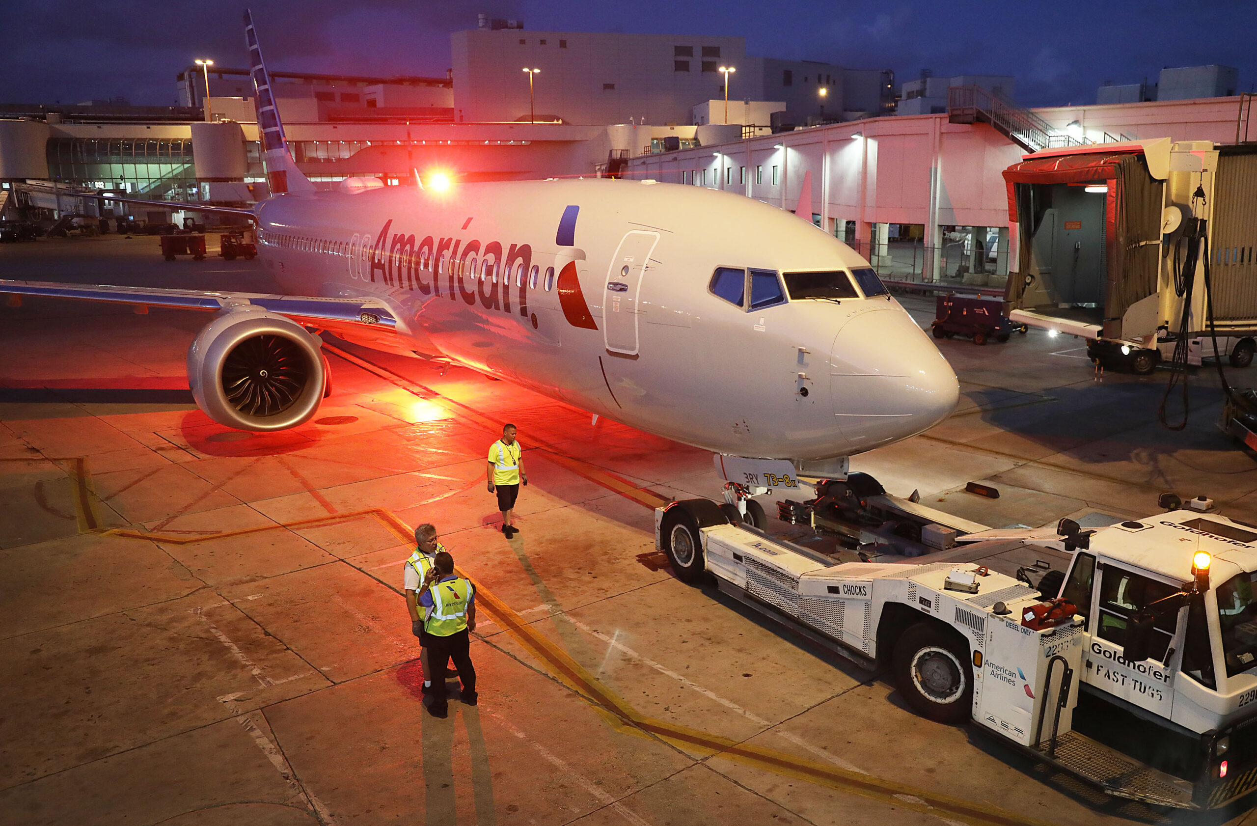 American 737 MAX Getty