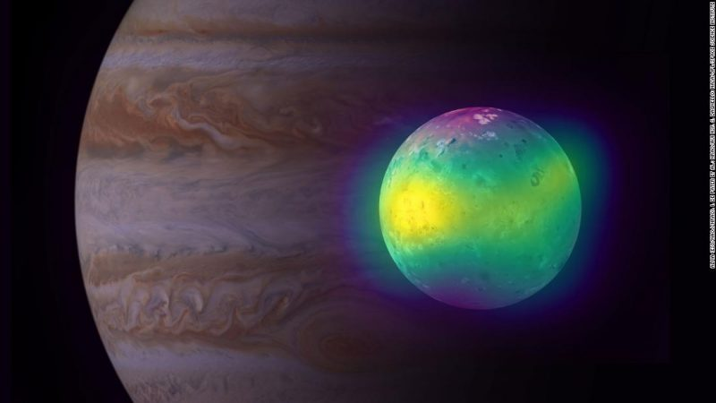 The images reveal new insights into Jupiter's volcanic moon Io