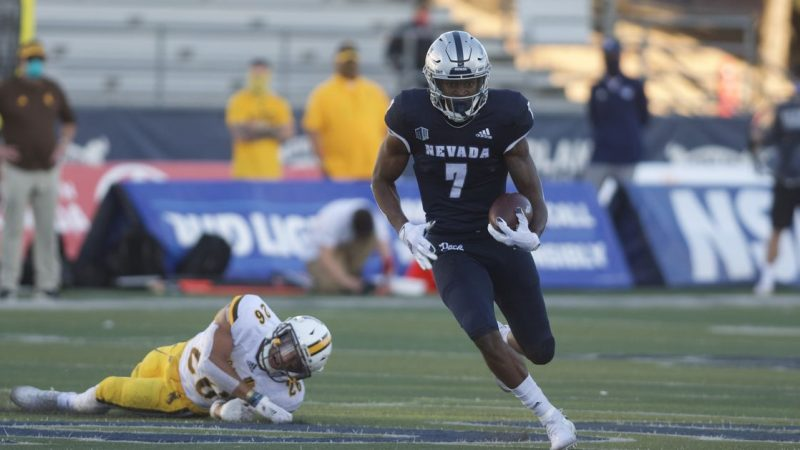 Nevada escape win with extra time 37-34 over Wyoming