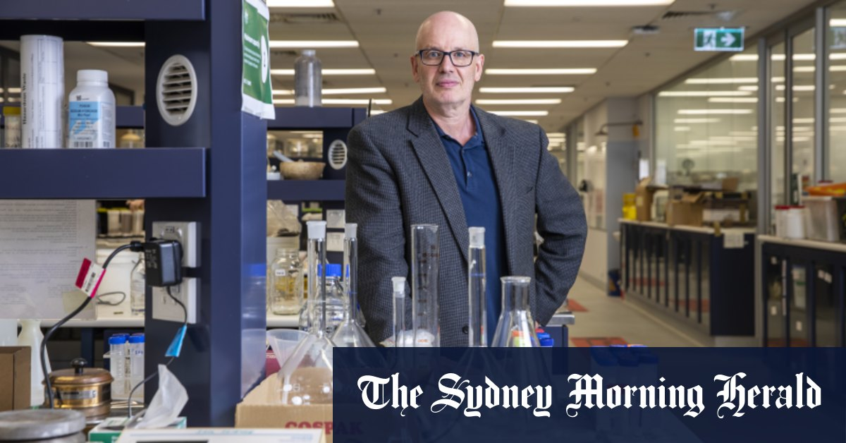 Renegade virology professor Edward Holmes was named NSW Scientist of the Year
