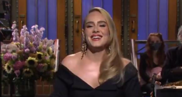 Adele rudely cleans the air about British rapper Skepta dating rumors while she talks about SNL Weekend
