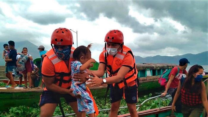 The Philippines evacuates nearly a million people as the world's strongest typhoon approaches 2020