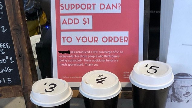 Acrobar Café directs horrific abuse of charging Daniel Andrews supporters
