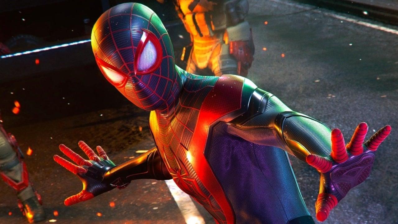 Artist Miles Morales shares alternate details of the suit design