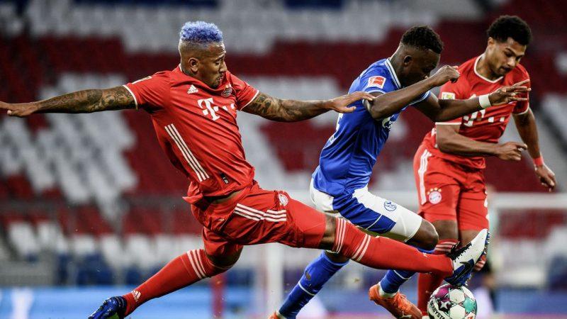 Bayern Munich vs Doren: the goal!  Muller made the score 2-0 from the penalty spot