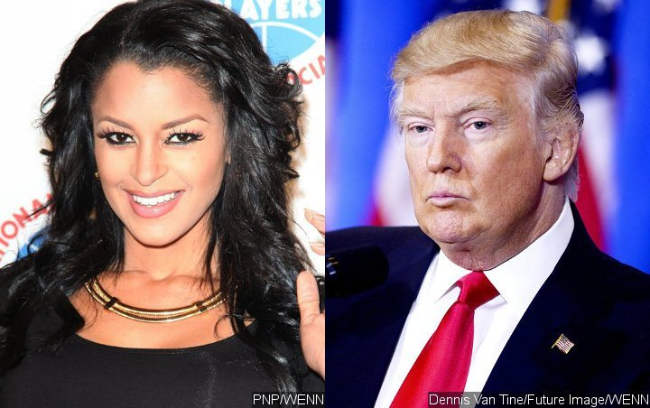 Claudia Jordan recalls rejecting the attempts of married Donald Trump to kiss her