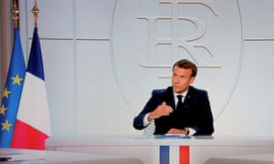 Emmanuel Macron announced new restrictions on the Coronavirus, including a curfew in Paris.